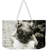 A Girl And Her Curls Weekender Tote Bag