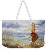 A Girl And The Ocean Weekender Tote Bag