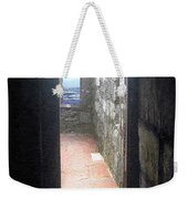 A Glimpse Of The Sea Weekender Tote Bag
