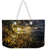 A Golden Barrel At The Wedge Weekender Tote Bag