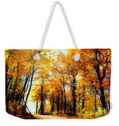 A Golden Day Weekender Tote Bag by Lois Bryan