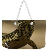 A Golden Skink Weekender Tote Bag