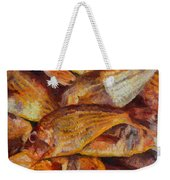 A Good Catch Of Fish Weekender Tote Bag