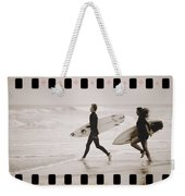 A Good Day To Surf Weekender Tote Bag