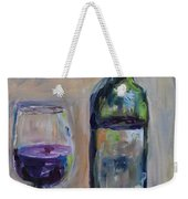 A Good Pour Weekender Tote Bag by Donna Tuten