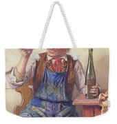A Good Vintage Weekender Tote Bag