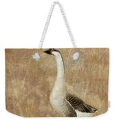 A Goose Is A Goose Weekender Tote Bag by Betty LaRue