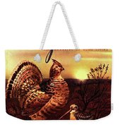 A Gourmet Cover Of A Turkey Weekender Tote Bag