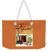 A Gourmet Cover Of Turtle Soup Ingredients Weekender Tote Bag