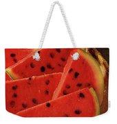 A Gourmet Cover Of Watermelon Sorbet Weekender Tote Bag
