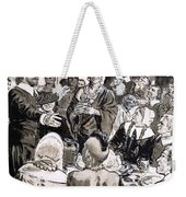 A Great Day In The Usa Weekender Tote Bag by CL Doughty