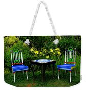 A Great Place For Lunch Weekender Tote Bag