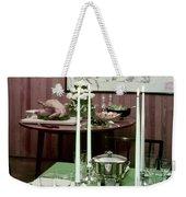 A Green Table Weekender Tote Bag