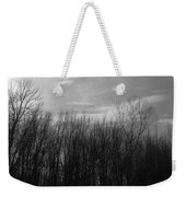 A Grey Point Of View Weekender Tote Bag