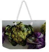 A Group Of Cauliflower Heads Weekender Tote Bag