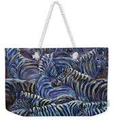 A Group Of Zebras Weekender Tote Bag