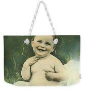 A Happy Baby Weekender Tote Bag