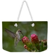A Happy Little Hummer  Weekender Tote Bag