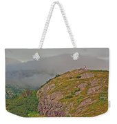 A High Point On Signal Hill National Historic Site In Saint John's-nl Weekender Tote Bag