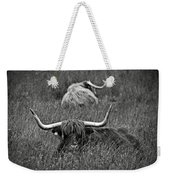A Highland Cattle In The Scottish Highlands Weekender Tote Bag