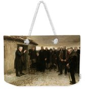 A Highland Funeral Weekender Tote Bag