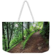 A Hiking Trail Goes Up Saddle Mountain Weekender Tote Bag