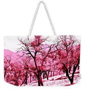 A Hint Of Pink Weekender Tote Bag