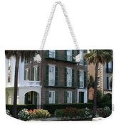 A Historic Home On The Battery - Charleston Weekender Tote Bag