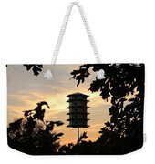 A Home Among The Trees Weekender Tote Bag by Jean Goodwin Brooks