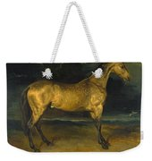 A Horse Frightened By Lightning Weekender Tote Bag