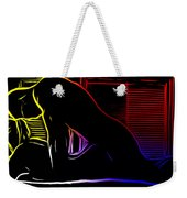 A Hot Night Weekender Tote Bag