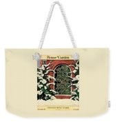 A House And Garden Cover Of A Christmas Tree Weekender Tote Bag