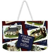 A House And Garden Cover Of Houses Weekender Tote Bag