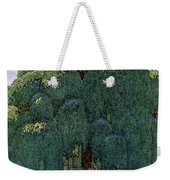 A House And Garden Cover Of People Dining Weekender Tote Bag