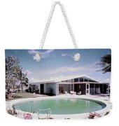 A House In Miami Weekender Tote Bag