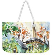 A House In Our Street In Budapest Weekender Tote Bag