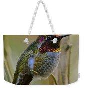 A Hummingbird Rainbow Weekender Tote Bag