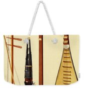 A Huqin And Bow, A Sheng, A Sanxian Weekender Tote Bag by Alfred James Hipkins