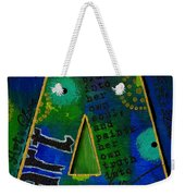 A Is For Art And Art Is Love Weekender Tote Bag