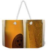 A Jar And Bottle Of Honey Weekender Tote Bag