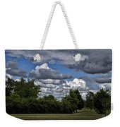 A July Cold Front Rolling By Weekender Tote Bag