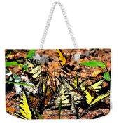 A Kaleidoscope Of Butterflies Weekender Tote Bag