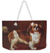 A King Charles Spaniel Weekender Tote Bag