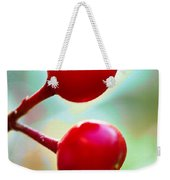 A Kiss Of Spring    A Promise Of Summer Weekender Tote Bag