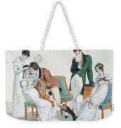 A Kissing Game Weekender Tote Bag
