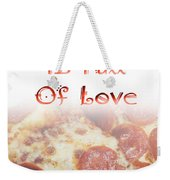A Kitchen Is Full Of Love 10 Weekender Tote Bag
