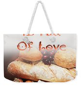 A Kitchen Is Full Of Love 15 Weekender Tote Bag