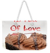 A Kitchen Is Full Of Love 4 Weekender Tote Bag