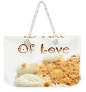 A Kitchen Is Full Of Love 8 Weekender Tote Bag