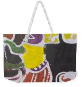 A Lady Is Clean The Pot To Pour Water Inside It Weekender Tote Bag